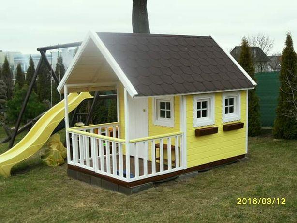 Domek dla dzieci malowany