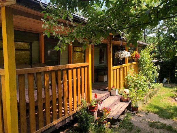 Domek nad jeziorem Nyskim Skorochów  4 osób+ 2 na kanapie