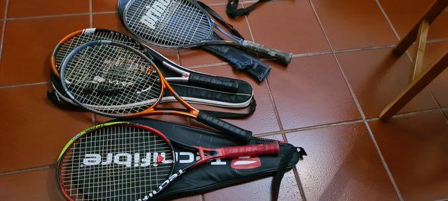 Raquetes e saco tenis