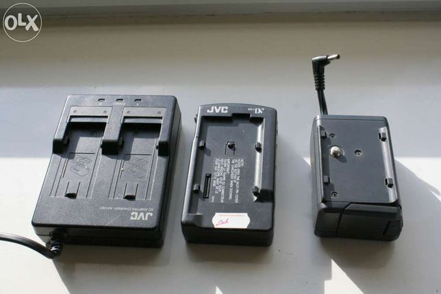 JVC - Zestaw - AC Charger- Docking Station - PowerPack