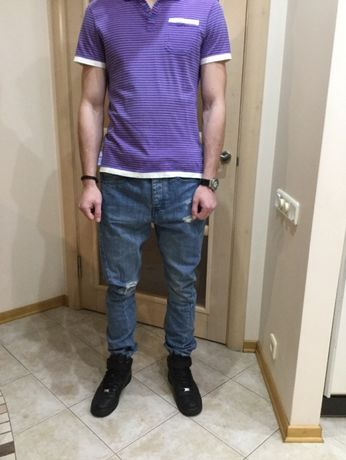 Новые джинсы SKINNY CARROT TOPMAN для подростка, размер 32