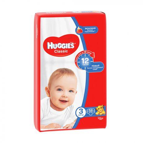 Подгузники Huggies Classic (размер 3)