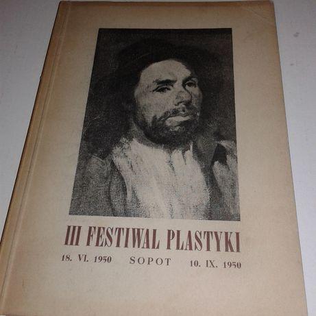III Festiwal plastyki katalog Sopot