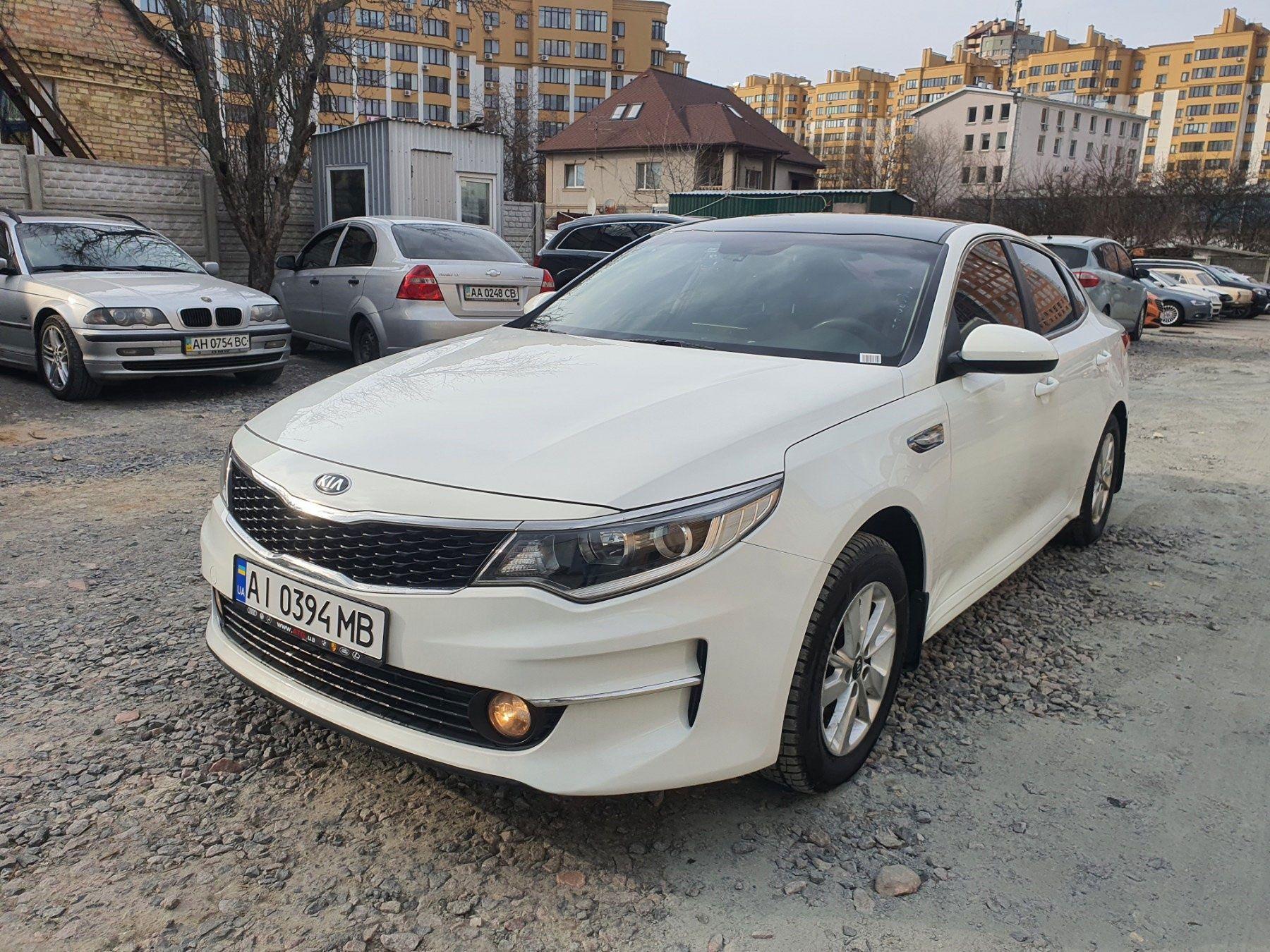 Аренда Hyundai Sonata и Kia Optima 2016-2018
