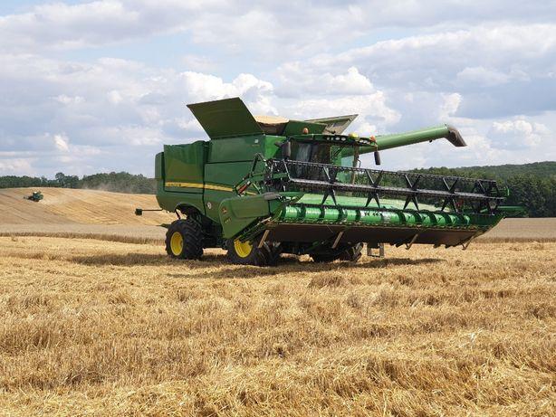 Koszenie zbóż,Rzepaku,Kukurydzy,Zbiór Zbóż,Omłot,Usługi Rolnicze,