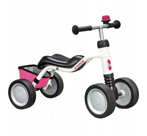 PUKY WUTSCH limited rower rowerek biegowy 18- 36 miesięcy różowy kosz