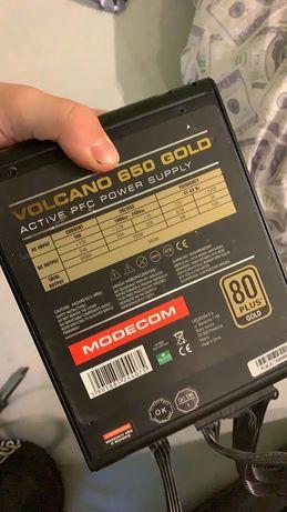Zasilacz komputerowy VOLCANO GOLD 650W