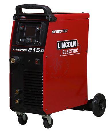 Migomat spawarka Lincoln electric speedtec 215c polautomat migmag