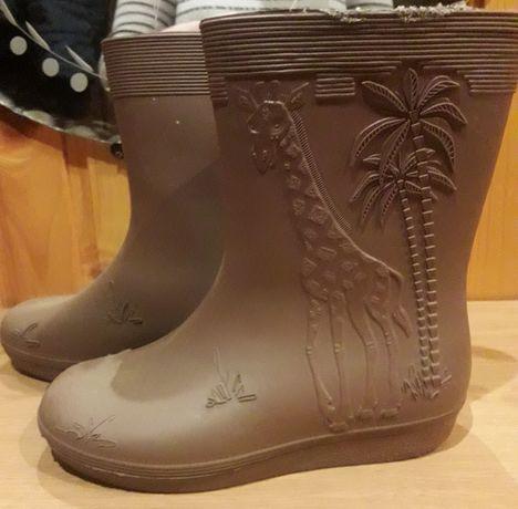 Ґумові гумові чобітки Резиновые сапоги