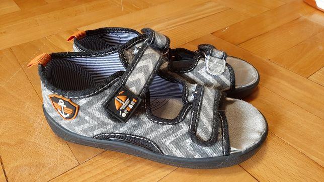 Buty sandały 28 rzepy