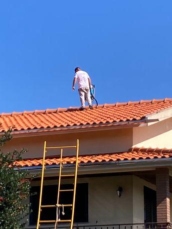 Lavagem e impermeabilização de telhados e outros