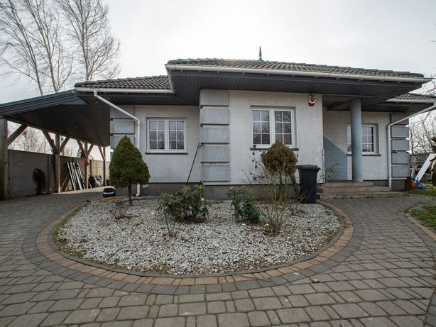 dom z garażem i ogrodem Eufeminów k/Łodzi, Brzezin, A1