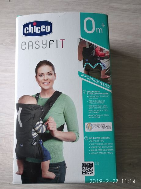 Кенгуру Chicco/ эргономичная сумка EasyFit новая