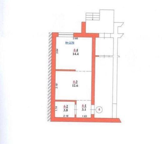 Продаж квартири в новобудові ЖК Бузковий