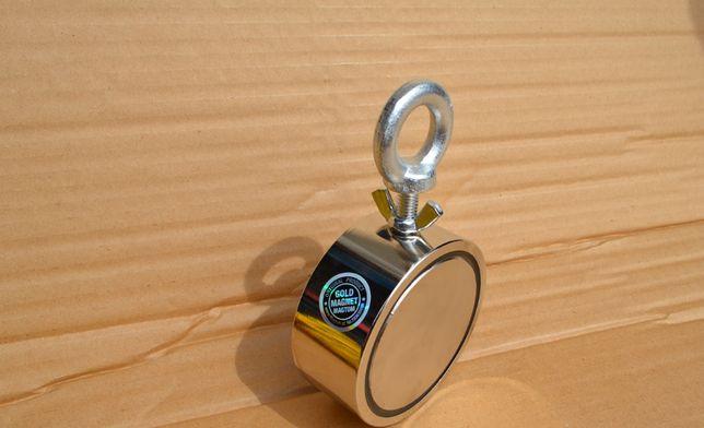 Magnes neodymowy F200 N50 Gold Magtom Magnesy do poszukiwań