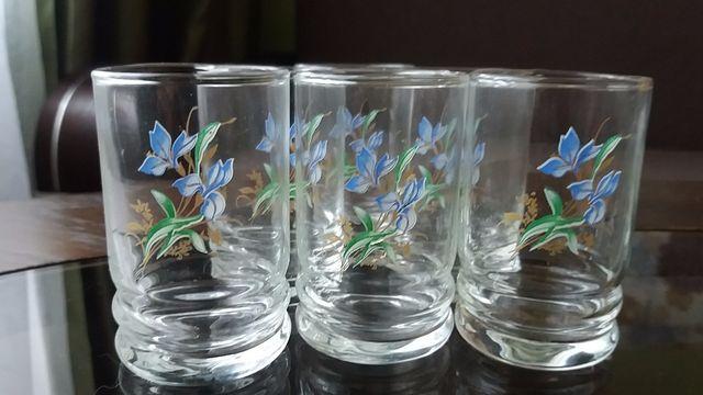 Новые стаканы по 6 шт (стопки, рюмки, стакани)
