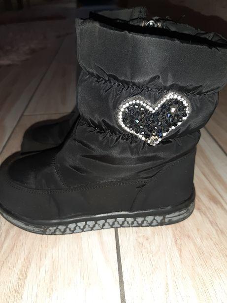 Зимние ботинки для девочки, 27 р