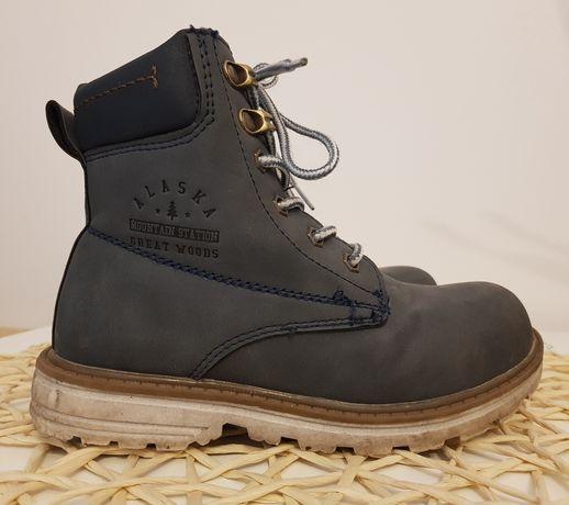 Buty trzewiki zimowe dla chłopca