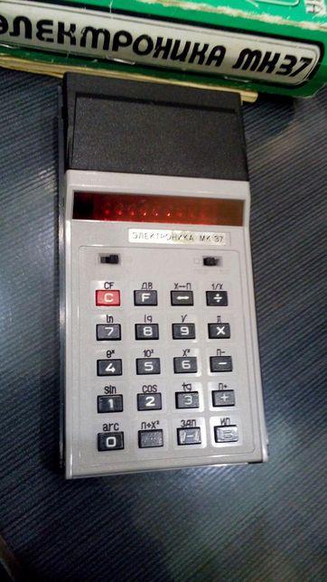 Калькулятор Электроника мк 37