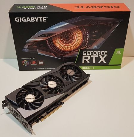 Gigabyte GeForce RTX 3060 Ti GAMING OC PRO 8 GB GDDR6  NOVA