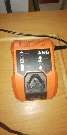 Carregador AEG com bateria e case de powerbank