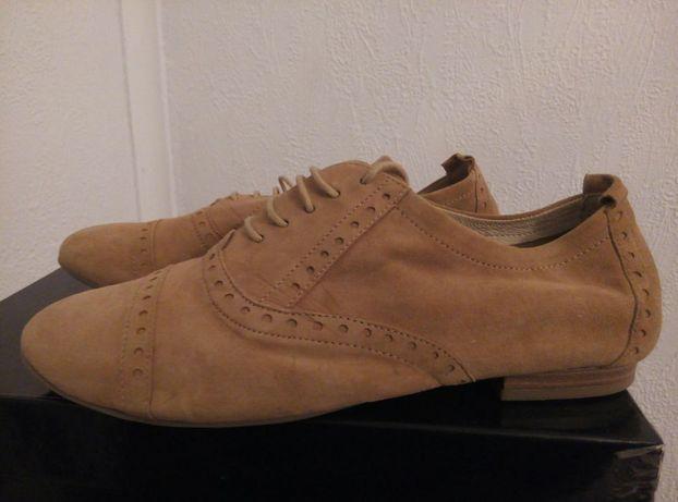 Туфли Caprice нежнейшая натуральная замша.38р.
