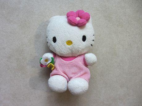 Мягкая плюшевая игрушка Hello Kitty Хеллоу Китти TY Sanrio 14 см