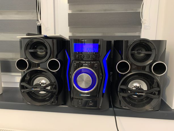 Wieża Blaupunkt BT/USB/CD/Mp3 nowa