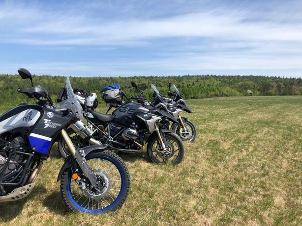BMW R1200 GS WYNAJEM motocykla WYPOŻYCZALNIA motorów motocykli Lublin
