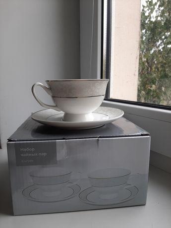 2 набора чайных пар