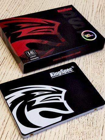 NEW! SSD диск 60Gb 120Гб 240 480 960Gb KingSpec sata3 ПК ноут ГАРАНТИЯ
