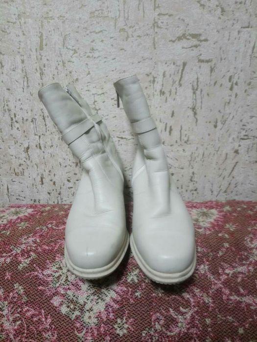 Зимние сапоги белые Донец - изображение 1