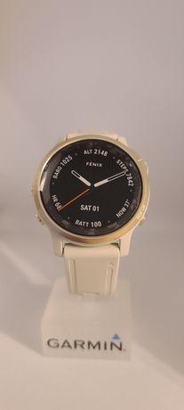 Годинник Garmin fenix 6S Sapphire золотавий з сірим ремінцем