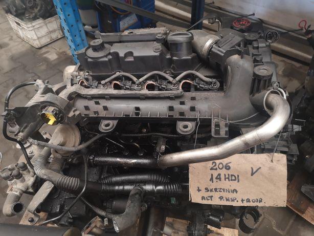 Silnik Peugeot 206 1.4 hdi