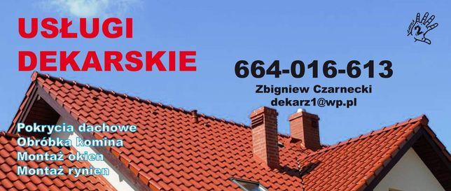 Pokrycia dachowe usługi dekarskie dekarz
