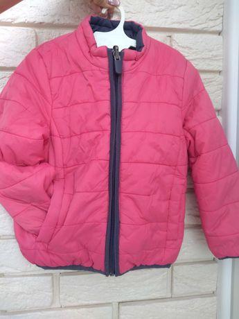 Двухсторонняя куртка весна-осень 98-104
