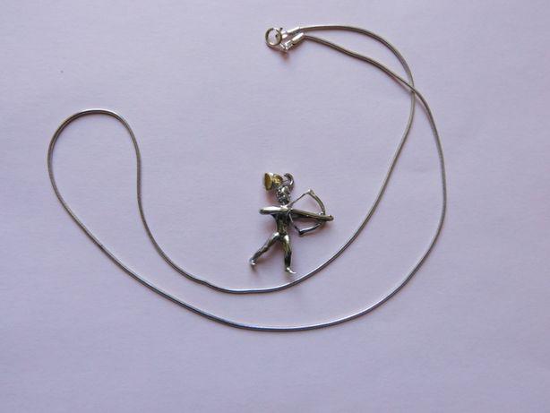 zawieszka srebrna znak zodiaku strzelec