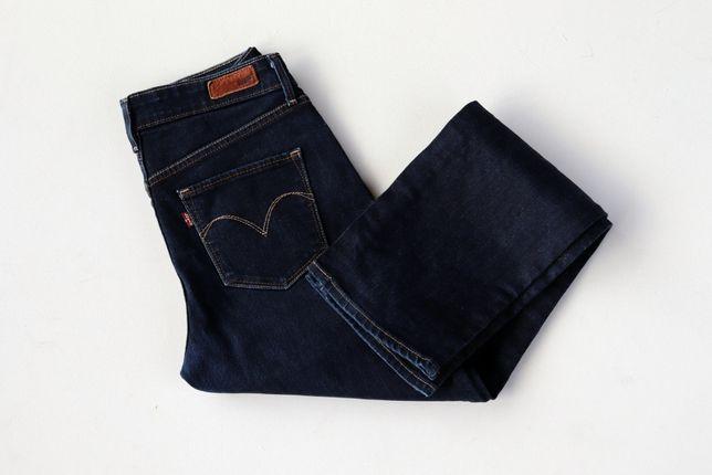 Damskie spodnie jeansy Levis Demi Curve W28 L30 Straight jak nowe