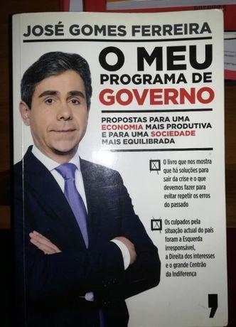 O meu programa de governo - José Gomes Ferreira