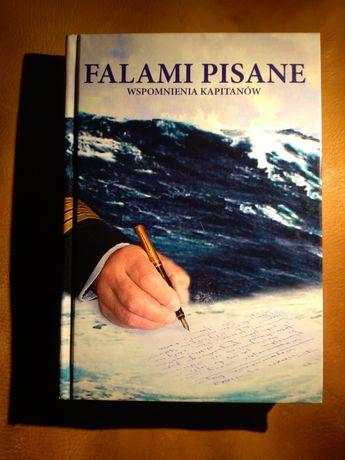 Książka - Falami pisane. Wspomnienia kapitanów rzadkość marynistyka