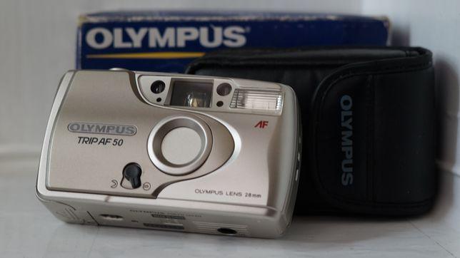 Ретро плёночный фотоаппарат Olympus trip af 50