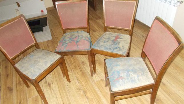 Krzesła tapicerowane 6 szt. - transport gratis