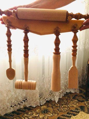 Кухонный деревянный набор