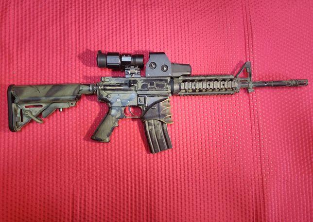 Replika M4 Karabin ASG Tuning ok. 500 FPS