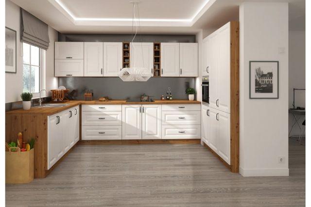 Stylowe meble kuchenne, kuchnia narożna, szafki kuchenne STYLO
