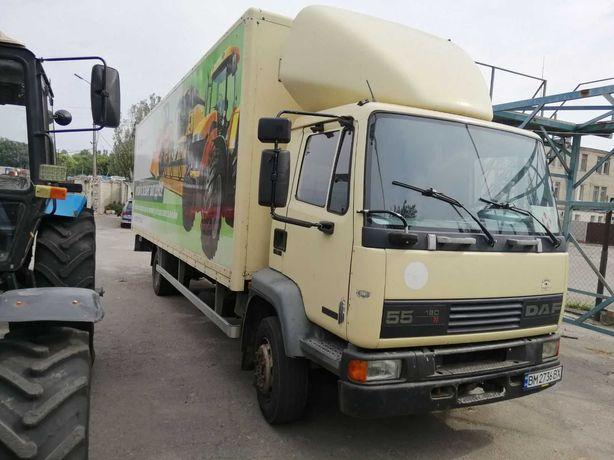 Грузовой автомобиль 5 тонн  фургон DAF AE-55 с гидробортом