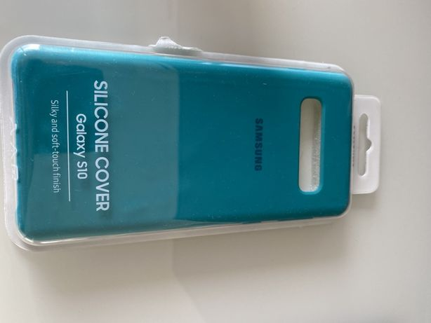 Capa original Samsung S10 cilicone com uma semana de uso