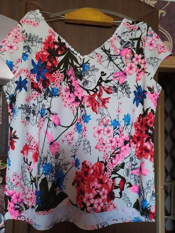 Блузка великого розміру