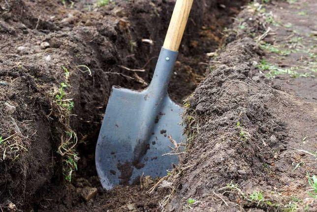 Выполним Земляные работы,копка земли в ручную