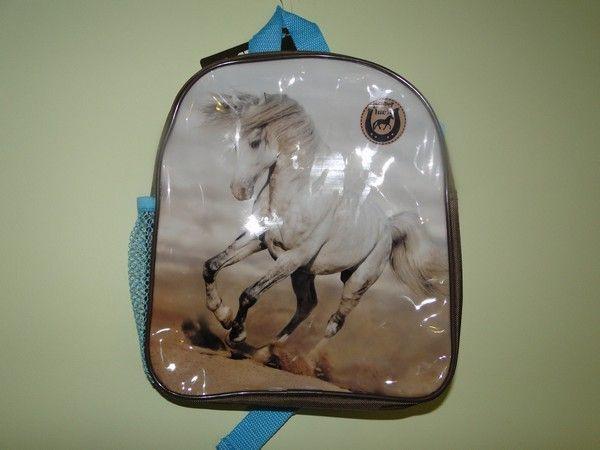 Plecak przedszkolny mały z koniem koń dla dziewczynki